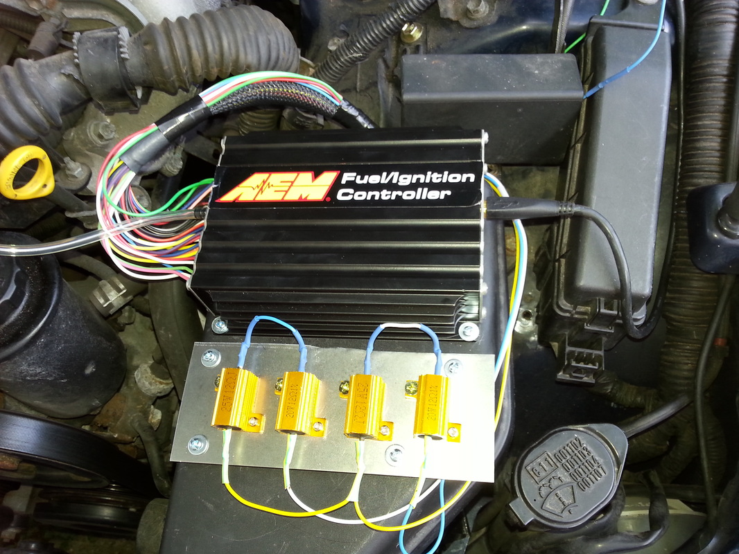 Prep For Turbo Aem Fic Tuning Lexus Is Forum Is300 Ecu Wiring Diagram I Setup The Per Instructions Here From And Other Sources Loaded Latest X Z Files Into Firmware Zerod Out All My Maps Completely